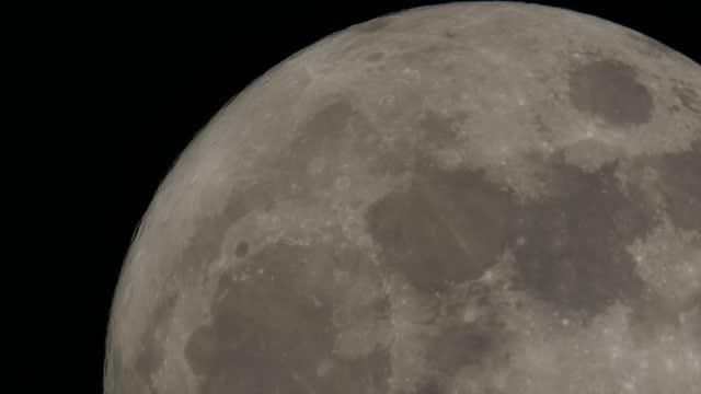 huge moon rising - moon surface stock videos & royalty-free footage