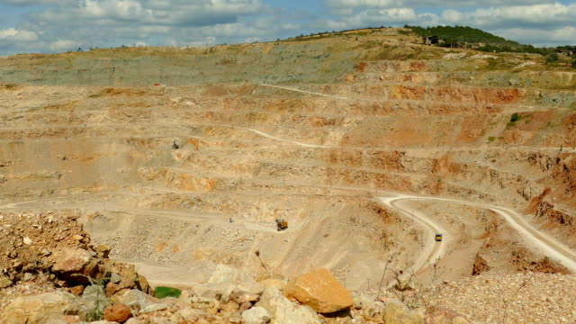 huge quarry for mining - surface mine stock videos and b-roll footage