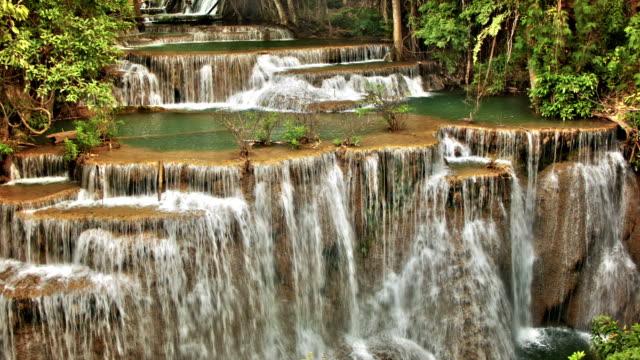 huge waterfall - seychelles stock videos & royalty-free footage