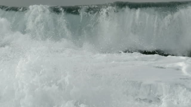 huge waves on the coast - storm surge stock videos & royalty-free footage