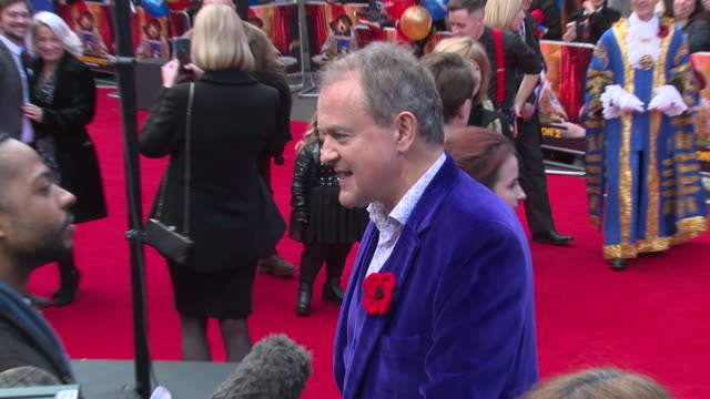 hugh bonneville at bfi southbank on november 05 2017 in london england - bfi southbank stock videos & royalty-free footage