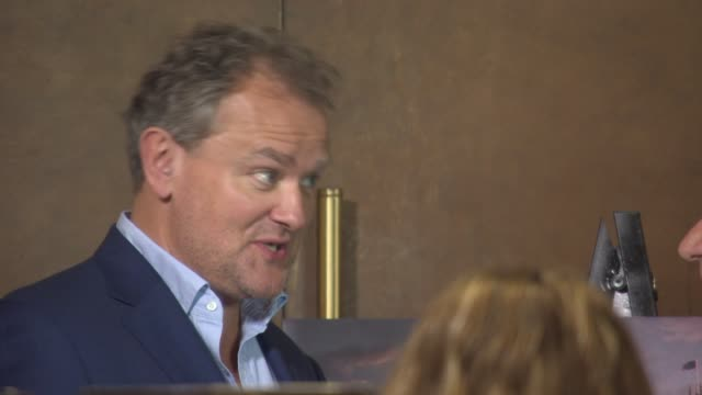 Hugh Bonneville at Downton Abbey press screening at The Mayfair Hotel on August 13 2015 in London England