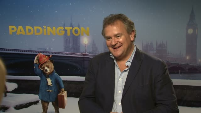 INTERVIEW Hugh Bonneville on 'Paddington' and 'Downtown Abbey' being a good image for Britain at 'Paddington' Interviews at Mandarin Oriental Hyde...
