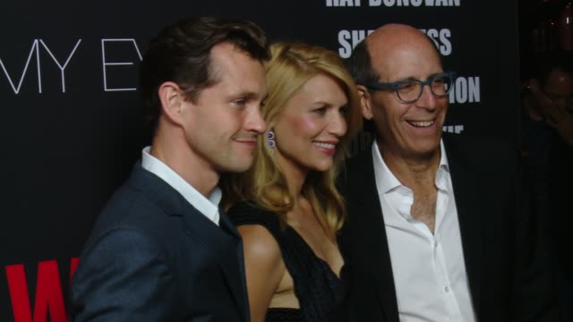 hugh dancy and claire danes at showtime emmys eve 2014 on august 24 2014 in los angeles california - claire danes stock videos and b-roll footage