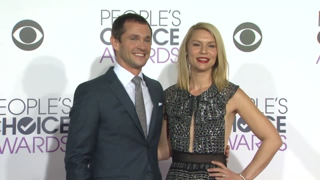 Hugh Dancy and Claire Danes at the People's Choice Awards 2016 at Nokia Plaza LA LIVE on January 6 2016 in Los Angeles California