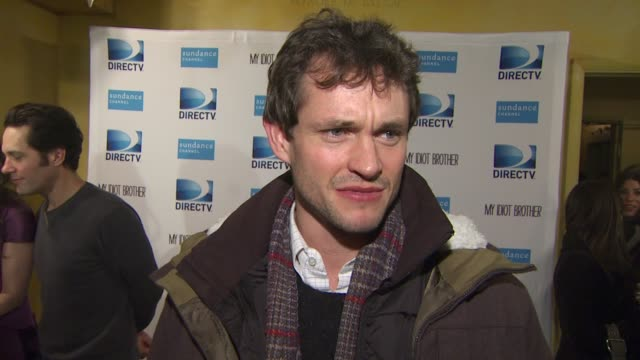 Hugh Dancy on the screening at Sundance and his experience at the festival at the DIRECTV hosts the premiere dinner for the cast of MY IDIOT BROTHER...