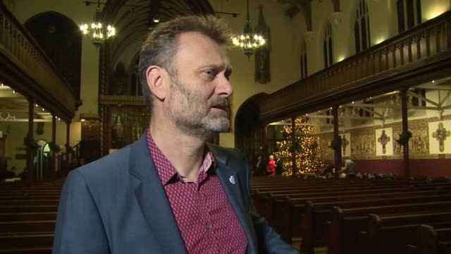 INTERVIEW Hugh Dennis on the charity Christmas and future plans at St Paul's Church on December 15 2015 in London England