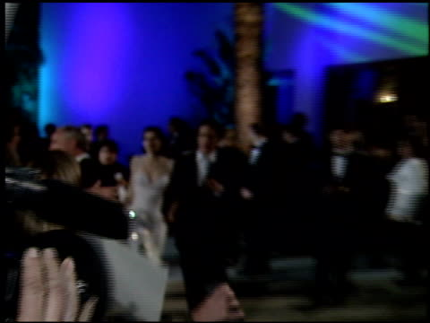 hugh grant at the 1995 academy awards morton party at morton's in west hollywood california on march 27 1995 - 67th annual academy awards stock videos & royalty-free footage