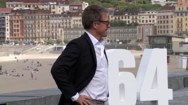 Hugh Grant attends 'Florence Foster Jenkins' photocall during 64th San Sebastian Film Festival on September 18 2016 in San Sebastian Spain
