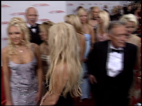 hugh hefner at the afi awards honoring robert de niro at the kodak theatre in hollywood california on june 12 2003 - hugh hefner stock videos & royalty-free footage