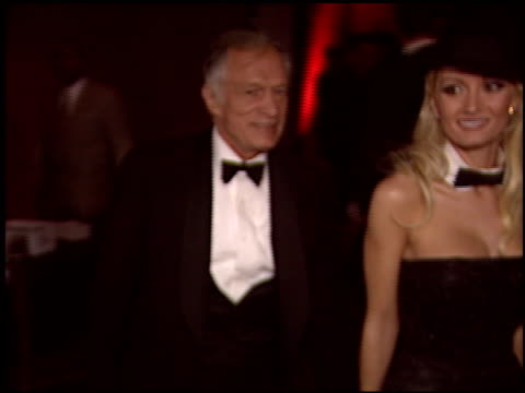 hugh hefner at the bmg grammy awards party at avalon in hollywood california on february 8 2004 - hugh hefner stock videos & royalty-free footage