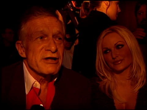 hugh hefner at the 'girl next door' premiere at luna park in west hollywood california on may 9 2000 - hugh hefner stock videos & royalty-free footage