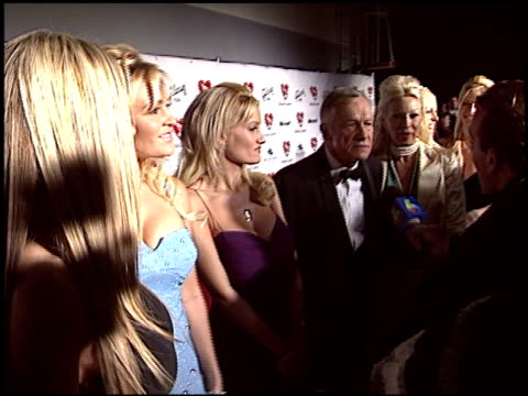 hugh hefner at the musicares 2004 person of the year sting at sony pictures studios in culver city california on february 6 2004 - hugh hefner stock videos & royalty-free footage