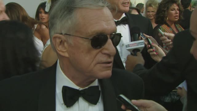 hugh hefner at the warren beatty to be honored with 36th afi lifetime achievement award at los angeles ca. - warren beatty stock videos & royalty-free footage