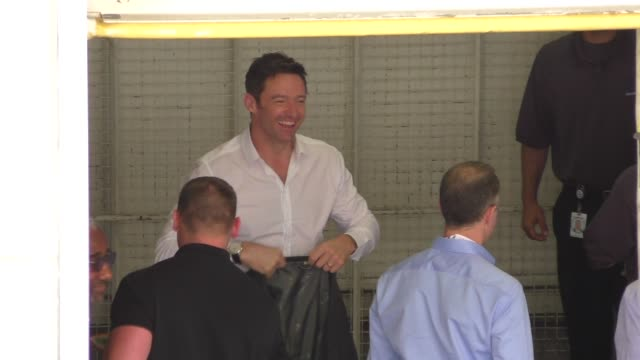Hugh Jackman at ComicCon Celebrity Sightings on July 11 2015 in San Diego California
