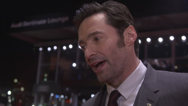 INTERVIEW Hugh Jackman on making a different film on her wife liking the salt and pepper look on having his skin cancer removed on keeping in shape...