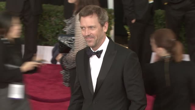 Hugh Laurie at the 15th Annual Screen Actors Guild Awards Part 3 at Los Angeles CA