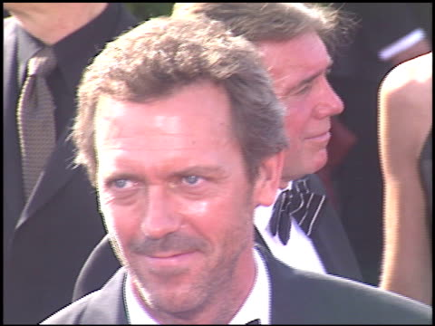 Hugh Laurie at the 2005 Emmy Awards entrances at the Shrine Auditorium in Los Angeles California on September 18 2005