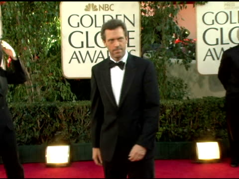 Hugh Laurie at the 2006 Golden Globe Awards Arrivals at the Beverly Hilton in Beverly Hills California on January 16 2006