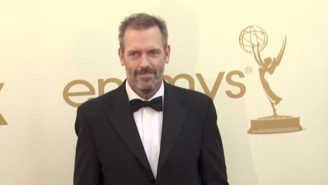 Hugh Laurie at the 63rd Primetime Emmy Awards Arrivals Part 2 at Los Angeles CA