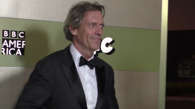 Hugh Laurie at the AMC Networks Emmy After Party at BOA Steakhouse in West Hollywood Celebrity Sightings on September 18 2016 in Los Angeles...