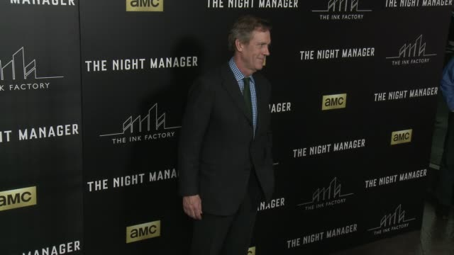 Hugh Laurie at The Night Manager Los Angeles Premiere at Directors Guild Of America on April 05 2016 in Los Angeles California