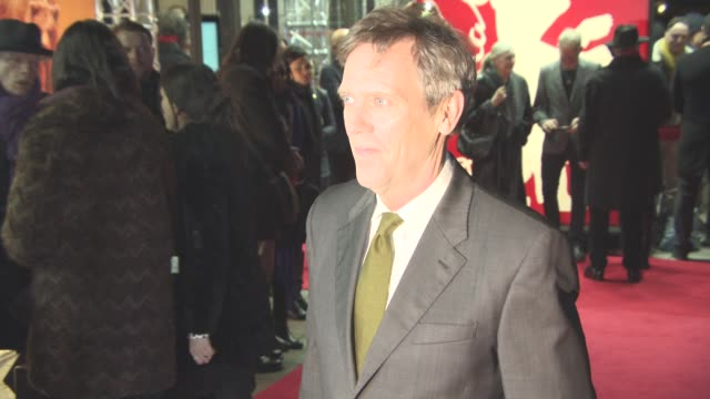 Hugh Laurie at 'The Night Manager' Red Carpet 66th Berlin International Film Festival at on February 18 2016 in Berlin Germany