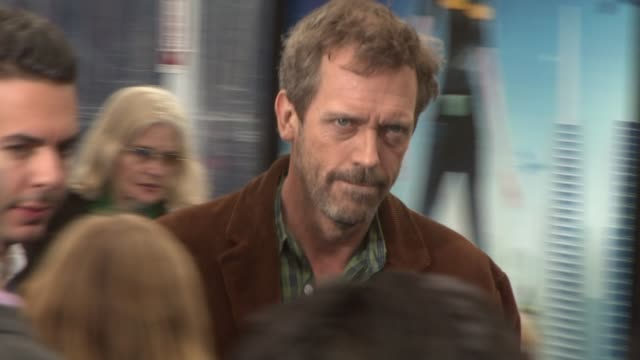 Hugh Laurie at the Premiere Of DreamWorks' 'Monsters vs Aliens' at Los Angeles CA