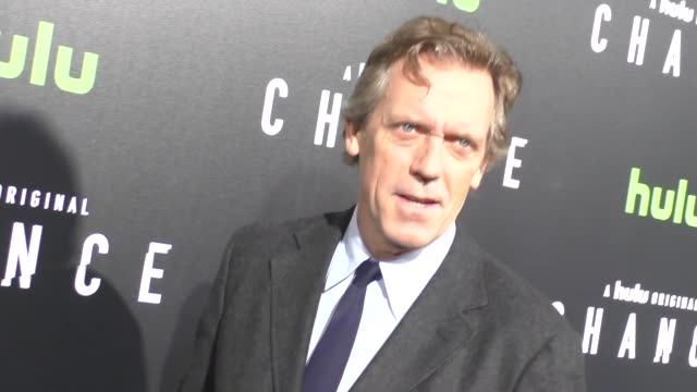 Hugh Laurie at the Premiere Of Hulu's 'Chance' on October 17 2016 in Los Angeles California