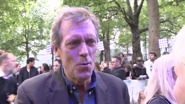 INTERVIEW Hugh Laurie on the films original story and working with George Clooney at 'Tomorrowland' A World Beyond UK Premiere