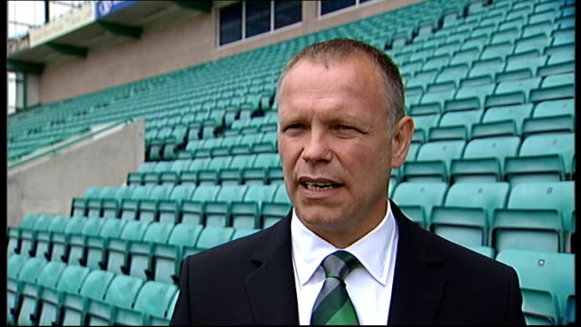 Hughes unveiled as Hibernian manager Edinburgh Easter Road EXT Hughes interview SOT Thinks that most of his Hibs players should want to play at...