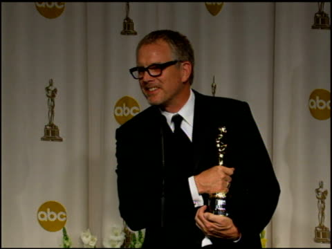 Hughes Winborne on if he arrived safely and how it was receiving the award from Zhang Ziyi at the 2006 Annual Academy Awards at the Kodak Theatre in...