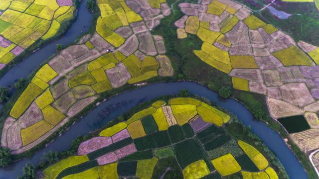 Hui Xian national Wetland Park in Lingui, Guilin, China