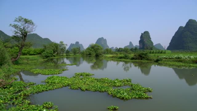 Huixian Wetland park, Lingui, Guilin, Guangxi, China