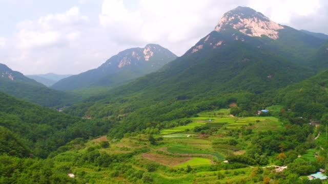 huiyangsan mountain / mungyeong-si, gyeongsangbuk-do, south korea - high up stock videos & royalty-free footage