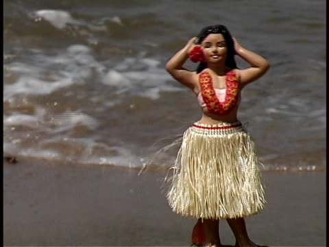 hula doll - doll stock videos & royalty-free footage