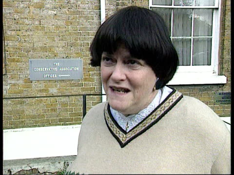 hull academic unmasked as east german agent; itn london: ann widdecombe mp interview sot - concerned about the way the entire matter has been handled... - ann widdecombe stock videos & royalty-free footage