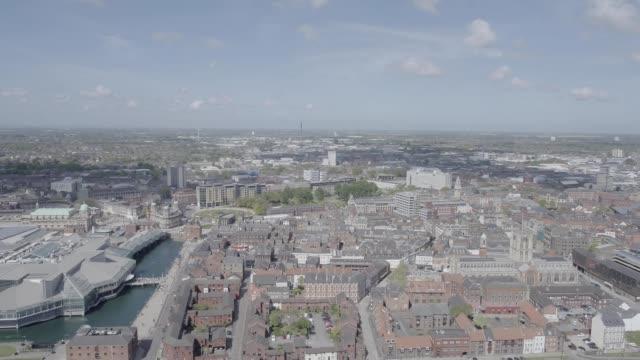 hull uk city of culture - キングストンアポンハル点の映像素材/bロール