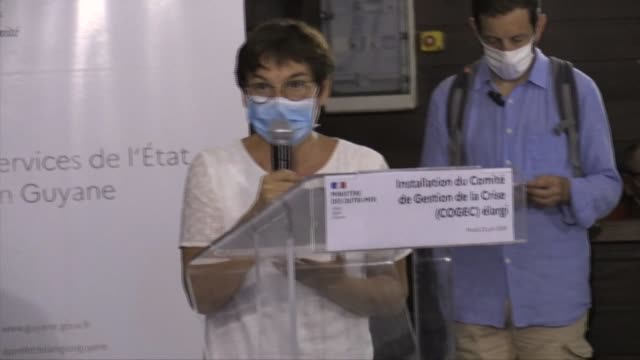human and material reinforcements will be deployed in french guiana in response to the coronavirus epidemic - french overseas territory stock videos & royalty-free footage