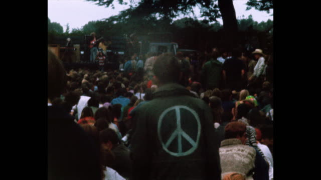 human be-in summer solstice hippies and rock and roll in golden gate park - 1967 stock videos & royalty-free footage