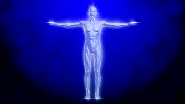 human body radio waves