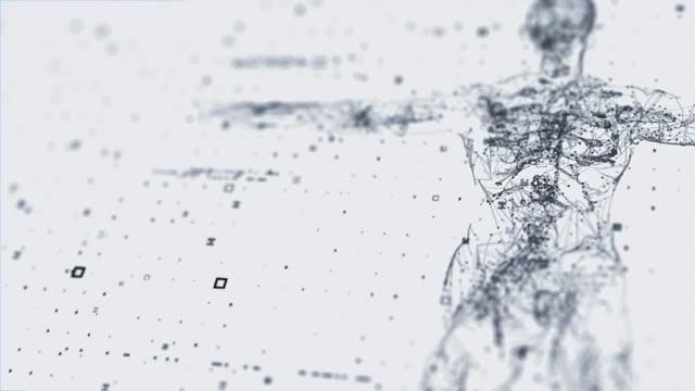 vídeos y material grabado en eventos de stock de exploración del cuerpo humano - big data