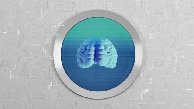 human brain | oscilloscope - sine wave stock videos & royalty-free footage