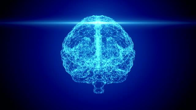 stockvideo's en b-roll-footage met menselijke hersen scan - hersenhelft