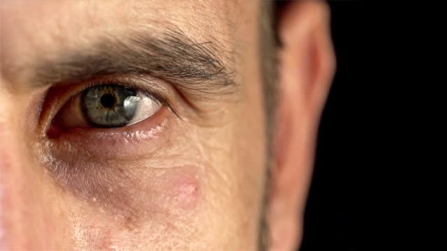 human eye. - staring stock videos & royalty-free footage