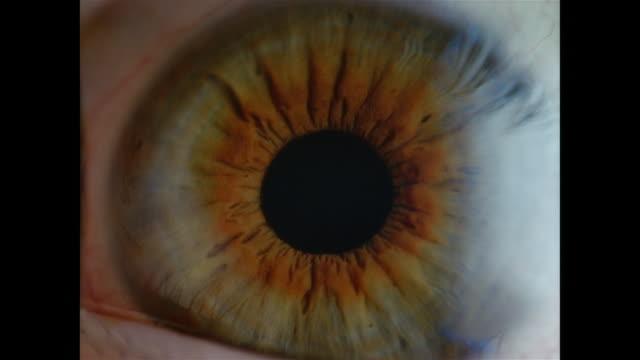 vidéos et rushes de slo mo, ecu, human eye  - plan très rapproché