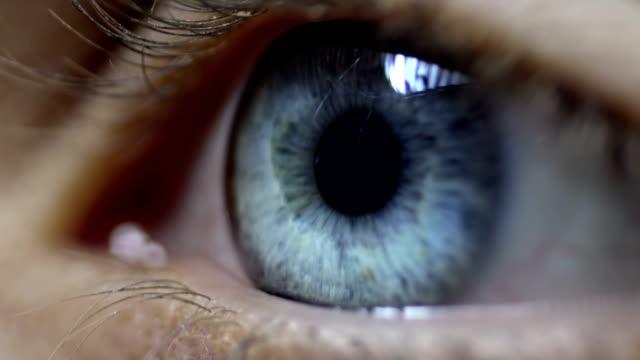 human eye - iris eye stock videos & royalty-free footage