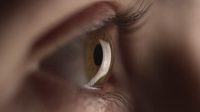 4k - human eye - blinking stock videos & royalty-free footage