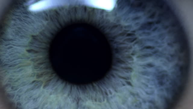 human eye - primissimo piano video stock e b–roll