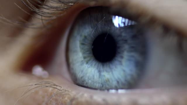 vídeos y material grabado en eventos de stock de human eye - ojo humano